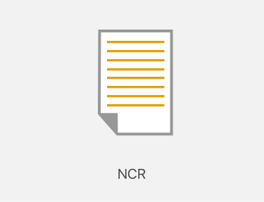 NCR (No Carbon Required) printing icon